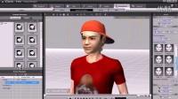 视频速报:iClone4教學範例 3 05 唱歌對嘴表情制訂-www.nbitc.com,慧之家