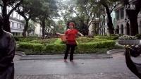 广州美丽依旧舞蹈课堂时动感现代舞之四正面演示重拍