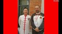 Profesors Men Hui Feng and Kan Gui Xiang in Hong Kong at Jao Tsung-I Academy