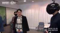 EXO抵港 MAMA后台PD欢迎特写镜头 151201