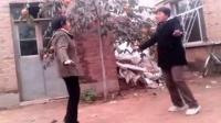 饶阳屯里庄稼院广场舞 二人对跳《粉红色回忆》VID_20151111_