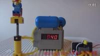 Lego Arduino regulated Pneumatic air compressor