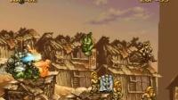 猴子_爱儿双人实况解说《合金弹头2》画面真心有点拖