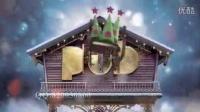 魔幻旋转圣诞小屋新年素材(3385)