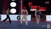 2015年世界跆拳道年度总决赛49KG半决赛中国吴静钰VS泰国