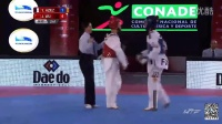 2015年世界跆拳道年度总决赛49KG决赛中国吴静钰VS法国