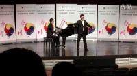 第三屆韓國春川國際聲樂比賽歌劇詠嘆調男子組第一名獲得者馬骉演唱歌劇《軍中女郎》選段<多么快樂的一天>