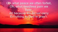 What耶穌恩友    A Friend We Have In Jesus [FREE DOWNLOAD] (hymn) with lyriCS
