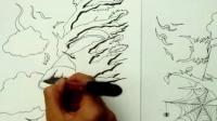 【北京周达画室】2013北服创意速写视频树和风95
