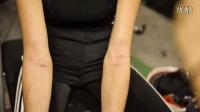 太拼!张柏芝录竞技节目手臂勒出伤痕