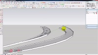 11.Extrude along sloping curved path-保持截面垂直的路径放样
