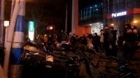 151210THU 吉他二重唱 帅哥组合 街头献艺 南京 珠江路 地铁口 (3)