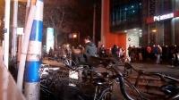 151210THU 吉他二重唱 帅哥组合 街头献艺 南京 珠江路 地铁口 (1)