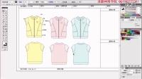 女童外套第2节 服装设计教程 服装设计视频 设计视频教程