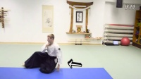 Aikido Ukemi Tutorial - Unsupported Shiho Nage High Fall  受身