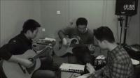 木贝司和滑棒吉他的即兴不插电  光大+Mr 猪+徐补刀