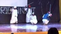 苏丹留学生在金华浙江师范大学,非洲之夜