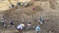 赌石之家:2015年12月缅甸翡翠矿区,摩弯基场口(三)