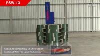 FSW-13 转盘式胶膜裹包机【FROMM孚兰】设计制造,在全球居于领先地位,质量第一!
