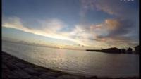 马尔代夫延时拍摄日落