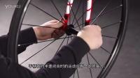 安装标准自行车快拆