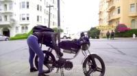 不限行不用年检免停车费的车? Bolt Motorbike M1智能电动摩托车 233