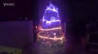 华硕ROG视频素材-炫彩圣诞树