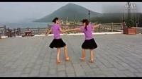 双人广场舞视频大全 你的笑容 双人舞三步踩