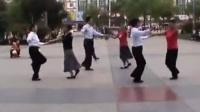 双人广场舞视频大全 九月九的酒 双人舞三步踩