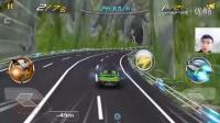 《3D狂野飞车:最高通缉》小小白驾驶飞车逃离警察大追捕