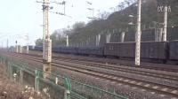 这鸣笛简直没谁了 2016年1月1日 西局安段HXD1 1178牵引货列进入襄渝铁路下行
