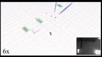 单目视觉SLAM演示1(屋顶地图建模)
