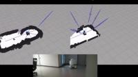 单目视觉SLAM技术演示(屋顶地图建模法)
