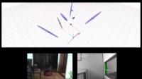 单目视觉SLAM演示3(屋顶地图建模)