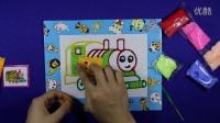 亲子游戏 托马斯雪花泥画 智力游戏 托马斯雪花泥画  奥特曼 儿童涂画
