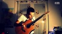 震撼!【洛登青年指弹吉他手大赛】德国帅哥Manith Bertz - Intro【HD】_标清