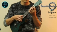 Puka Ukulele|Rosette Design Series|PK-DPC|Sound Test