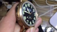 【实拍】KW厂真力时大飞手表,青铜黑面,9015自动机械机芯