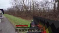 在minecraft(我的世界)里使用枪-真人minecraft 我的世界