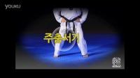 2016朴东英跆拳道品势基本动作步法篇-马步2