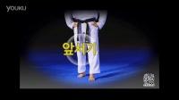2016朴东英跆拳道品势基本动作步法篇-走步3