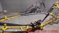 [乐高机器人脑洞精品合集]LEGO - 过山车双重循环. by üfchen