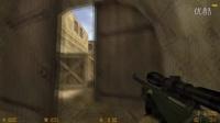 CS1.6技巧教学第七十六期 de_dust2 警家反爆中门卡点狙