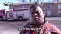[K分享] 美国黑人大妈超喜感采访RAP神曲 (中文字幕)