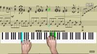 学琴屋 《canon》钢琴教学 高清视频