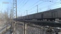 1月17日霸州    京九线    南燕务村拍摄HXD3D0497牵引X111次