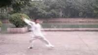 自然门弟子郑凌练六合拳