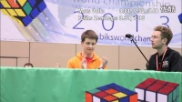 Mats Valk 和 Feliks Zemdegs 决赛 2013世界魔方锦标赛