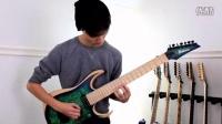 "Polyphia乐队的吉他手Tim Henson和Scott LePage用Ibanez Iron Label演奏Mozart's ""Sonata K 545"""