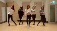 EXID 'Hot Pink' 练习室镜像